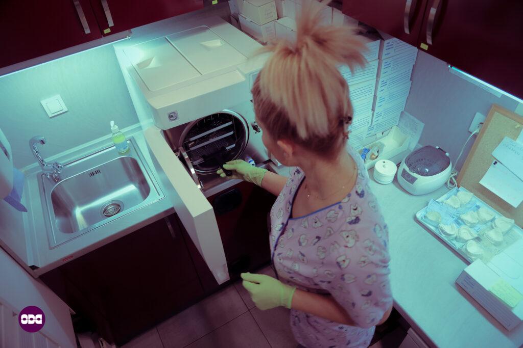 Подготовка за стерилизация на инструментариума