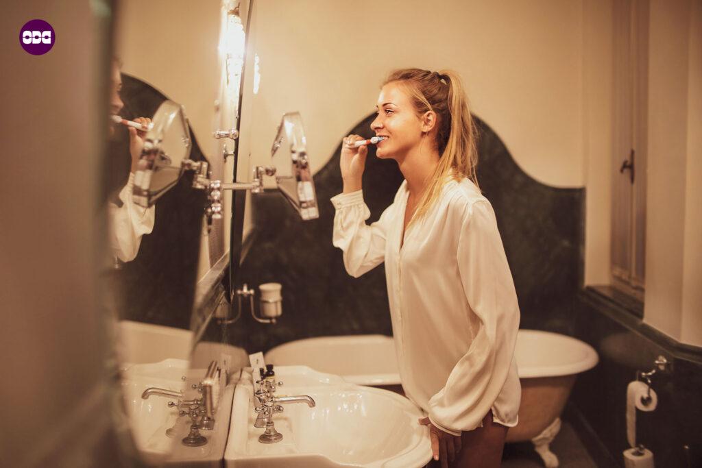 Не пропускайте миене на зъбите сутрин и вечер, всеки ден 😉